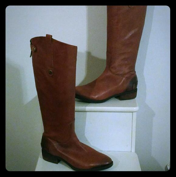 bfc50070bed14a Sam Edelman Penny2 Wide Calf Riding Boots. M 5b79cf1f2e14786599174b7e